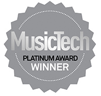 Platinum Award for Best Software Instrument at 2015 MusicTech Gear Of The Year