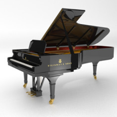 Steinway D grand piano