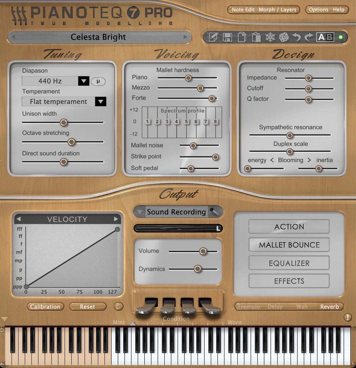 Pianoteq - Celeste: Glockenspiel & Celesta