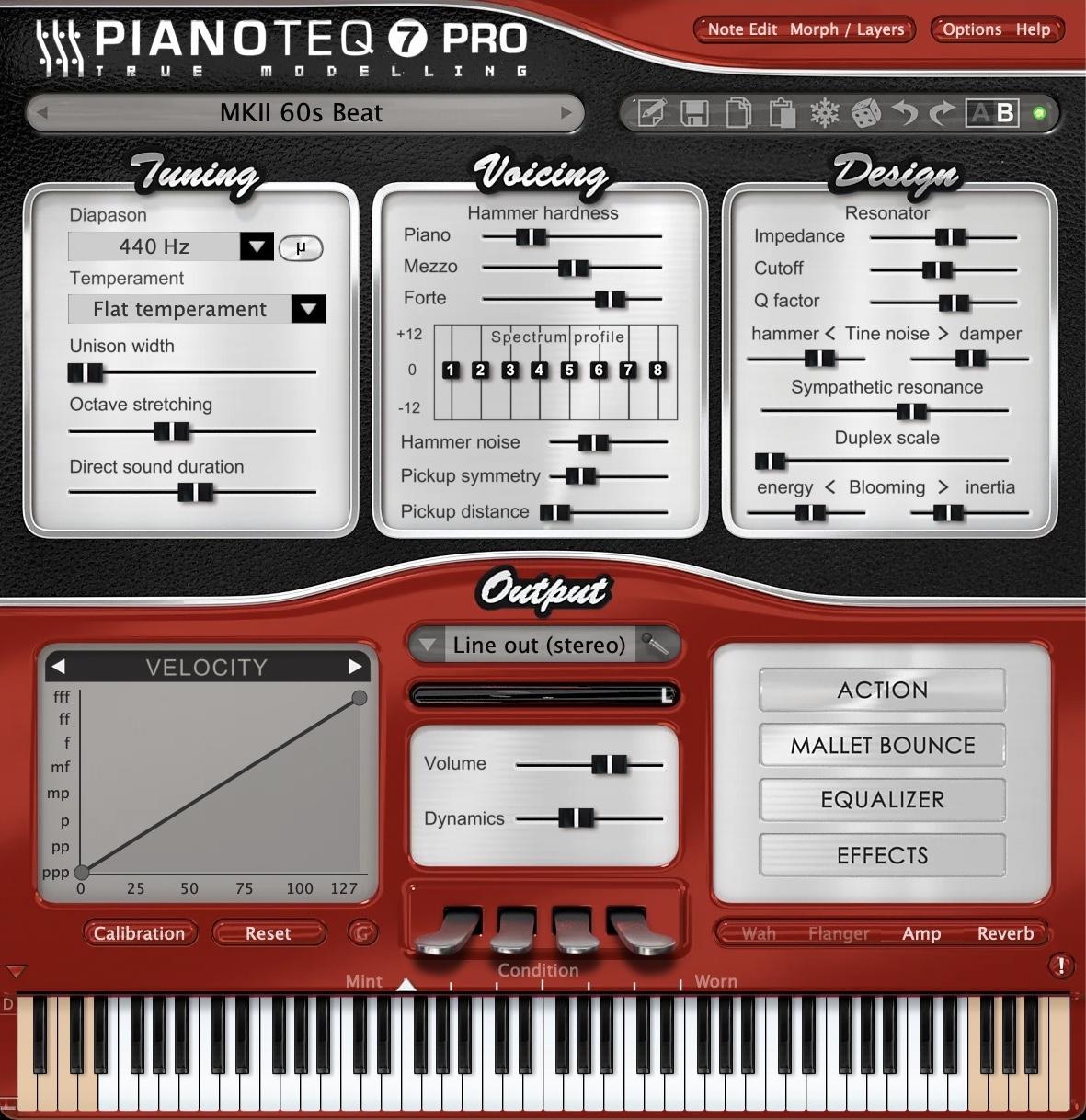 Pianoteq - Electric pianos: MKI, MKII & W1