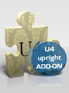 U4 upright add-on