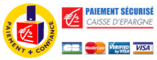 Secure Payment with the Caisse d'Epargne.
