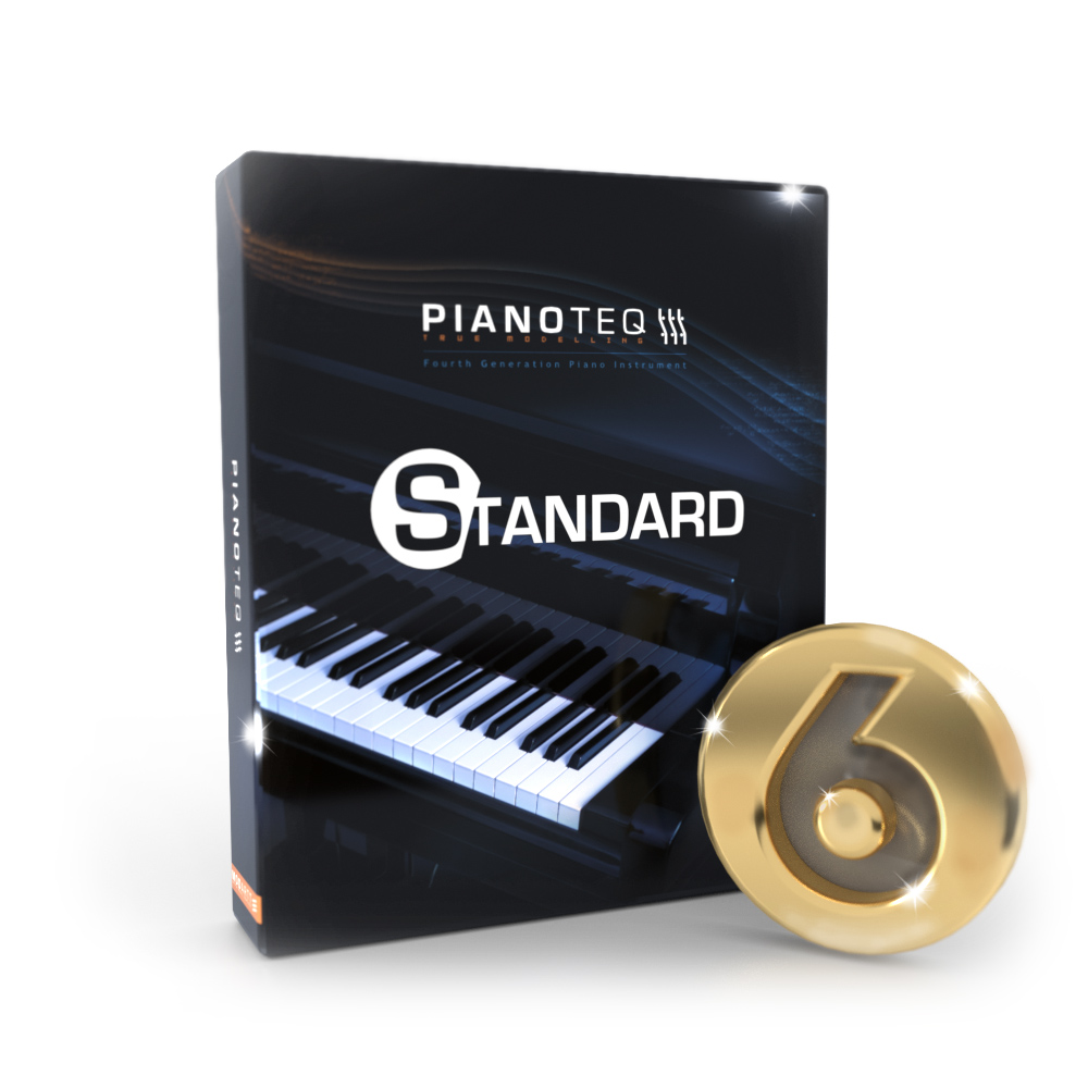 Pianoteq - Virtual piano, physically modelled acoustic and