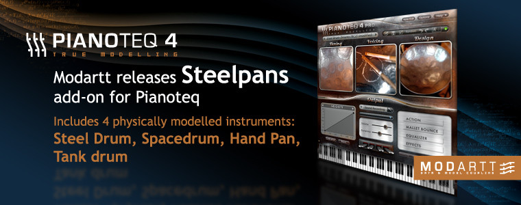 Steelpans add-on released
